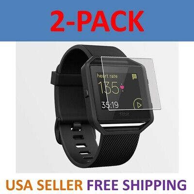 2-Pack Screen Protector PET Full Coverage Clear Film For Fitbit Blaze Watch](Blaze Movie)