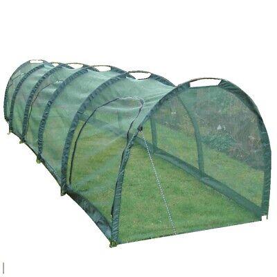 5x1.5x1.5m H Allotment Plant Protector Garden Butterfly Net Mesh Tunnel Cloche