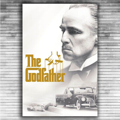 P735 Art Poster The Godfather Movie Series Marlon Brando Al Pacino Classic