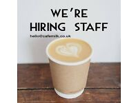 Busy Independent Café Seeking Full Time or Part Time Barista/All-Rounder