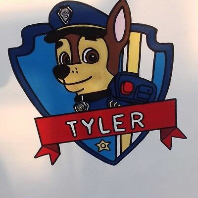 Paw Patrol style Toddler size Bedframe - with slats - SOLD but made to order