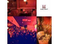 Part Time Bar Staff Busy Nightclub - Velvet Nuneaton