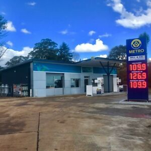 Metro petrol station