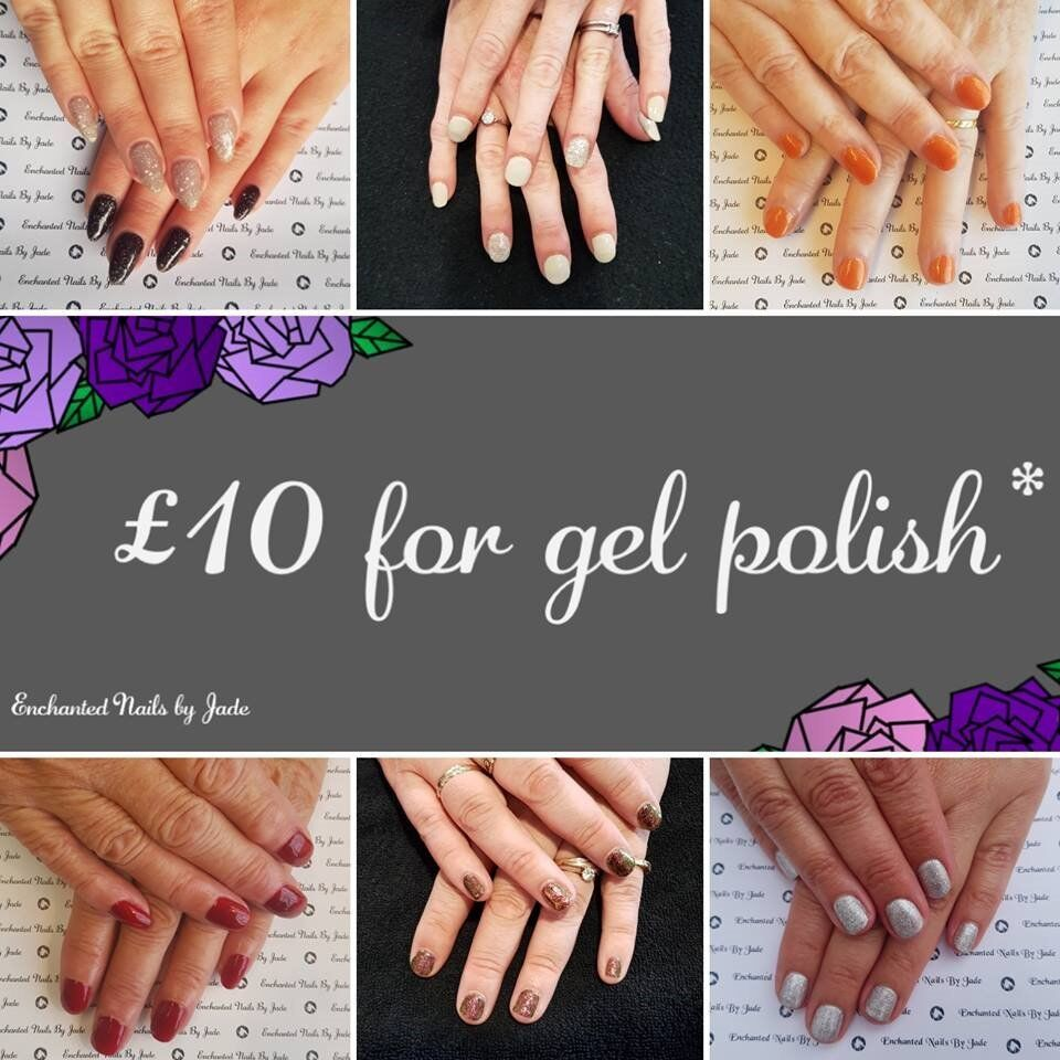 £10 for Gel Nails