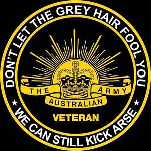 Army Veteran Humour  T-shirts Yeppoon Yeppoon Area Preview