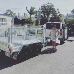 Premium 8x5 TANDEM Box Trailer 600mm Cage Dual Axle 2000kg ATM Sumner Brisbane South West Preview