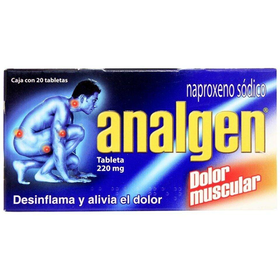 Analgen - desinflama y alivia dolor - 20 tablets