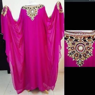 Платье Women Abaya Galabia heavy embroidery