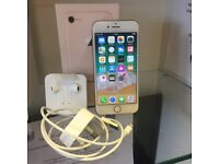 Apple iphone 8 64GB 02 Gold Brand new including box