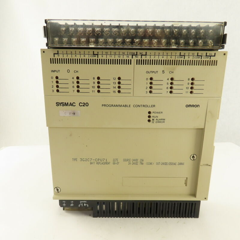 Omron 3G2C7-CPU71 Sysmac C20 Programmable Controller