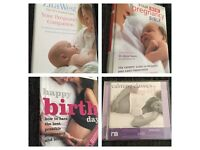 Pregnancy books & cd