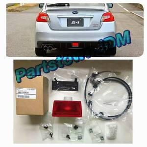 2015 - 2017 / 2018 WRX STI  JDM Subaru genuine OEM rear fog light lamp kit VA S4