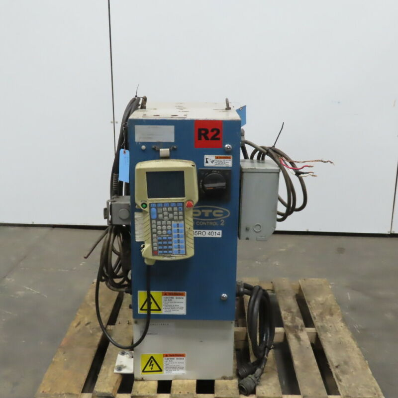 Daihen OTC IRBC-621 Dr Control 2 Set up for a DR4000 Tested & Works
