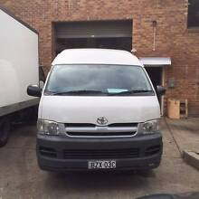 2007 Toyota Hiace KDH221R MY07 Upgrade SLWB White 4 Speed Automat Lidcombe Auburn Area Preview