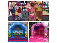 Party Entertainers , Mascots and Bouncy Castles