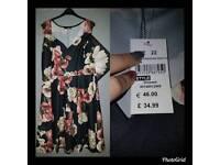 Quiz Floral Skater Dress