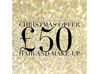 Qualified Make-Up Artist | Mobile Appointments | £50 Hair and Make-up
