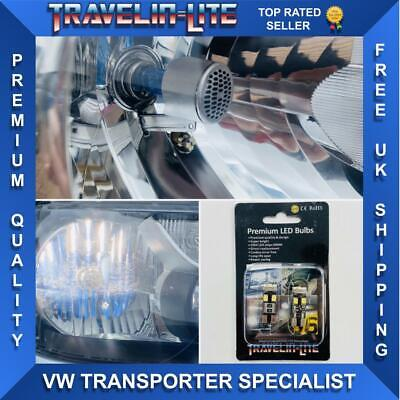 Car Parts - VW T5 T5.1 T6 Transporter Led Side Light Bulbs CREE Bright White Canbus