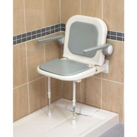 Brand new still in box AKW 04230p shower seat with legs 4000 series