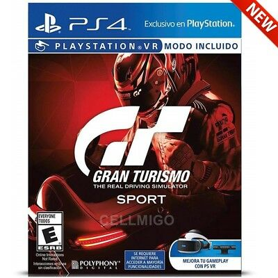 Gran Turismo Sport - The Real Driving Simulator - PlayStation 4 Game Disc