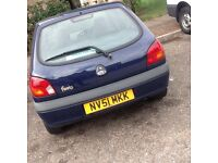 Ford Fiesta 1.3 51 plate immaculate condition