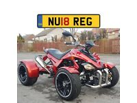 ★ BRAND NEW 2018 SPY RACING QUAD BIKES F3-250 ROAD LEGAL QUAD BIKE 250CC FREE HELMET AND DELIVERY ★