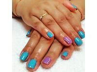 Manicure Pedicure Gel polish shellac acrylic nails