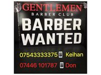 Need barber , barber wanted, Solihull , Birmingham, Shirley