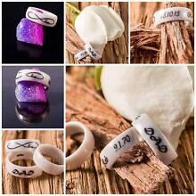 Zirconia and cremation ash memorial ring. Keepsake jewellery. Cranbourne Casey Area Preview