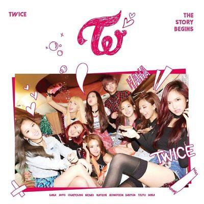 TWICE THE STORY BEGINS 1st Mini Album CD+Photo Book+3p Card+Garland K-POP SEALED