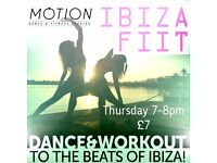 IBIZA FIIT - Dance, HIIT & Yoga Combined for the Ultimate Ibiza Workout