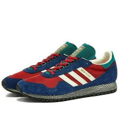 Adidas Trainers Rare END. X ADIDAS THREE BRIDGES NEW YORK Size 10 UK