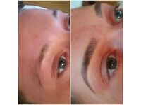 Microblading - Semi Permanent Natural Look Eyebrows By Professional Makeup Artist