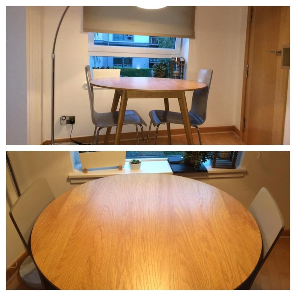 John Lewis Lily Round Oak Dining Table