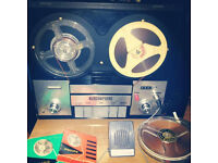 reel to reel tape player/recorder