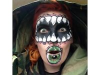 HALLOWEEN FACEPAINTER / BODY ARTIST / MAKEUP / FACE PAINT/ EVENTS BOOKINGS / PARTIES