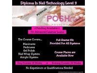 Poshnailz Doncaster. Free nail training