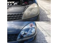 Headlights restoration. Astra vectra clio saab Mercedes toyota bmw porshe golf passat vw skoda Volvo