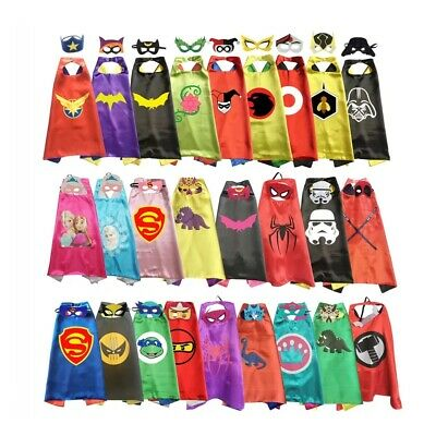 Superhero Capes with Masks for Kids Birthday Party Halloween Costume Cosplay](Superhero Halloween Costumes For Kids)