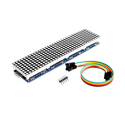 1pcs Max7219 Dot Matrix Module For Arduino Microcontroller 4 In One Display