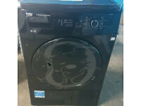 m452 black beko 8kg condenser sensor dryer comes with warranty can be delivered or collected