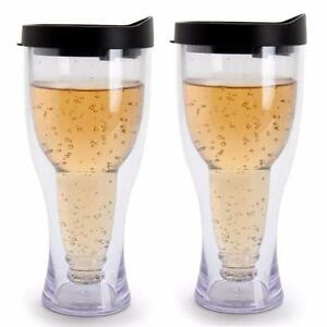 NEW, Winnington 2-Pack Beer Tumblers BPA-free 14 oz (415 ml) - BLACK