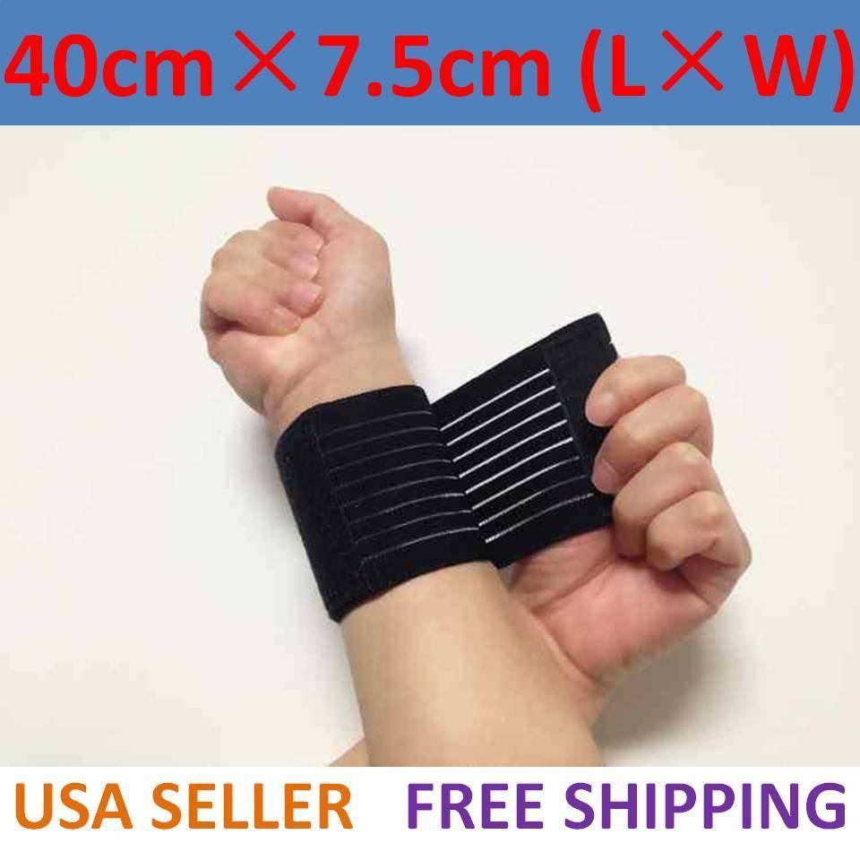 Sports Wrist Band Brace Wrap Adjustable Support Gym Strap Ca