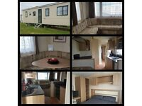 3 bed, 8 Berth caravan to let on the Award winning holiday park...Bunn Leisure, Selsey