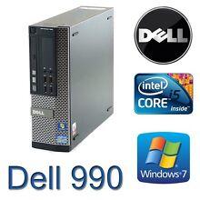 Dell Optiplex 990 Core i5 Quad 3.3GHz 4Gb ddr3 120Gb SSD Win 7 Devon Park Port Adelaide Area Preview