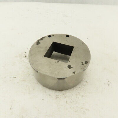 1.000 .060 Square Hole Die Cnc Turret Punch For 2.750 Holder