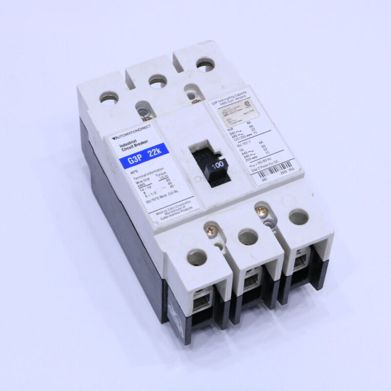 AUTOMATION DIRECT EATON  G3P-22K CIRCUIT BREAKER