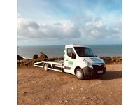 Vehicle Breakdown and Recovery across Cornwall and the UK. Prices from £30