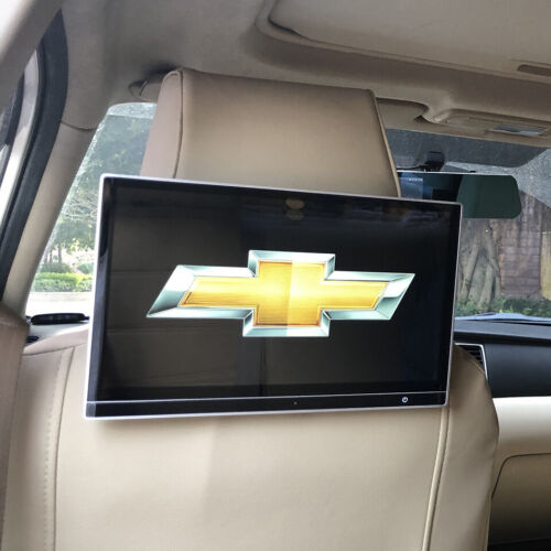 Wifi Bluetooth USB Android 9.0 Car Screen Headrest With TV Monitor For Chevrolet