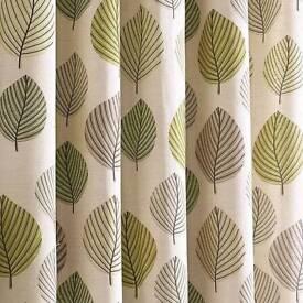 Dunelm curtains regan green